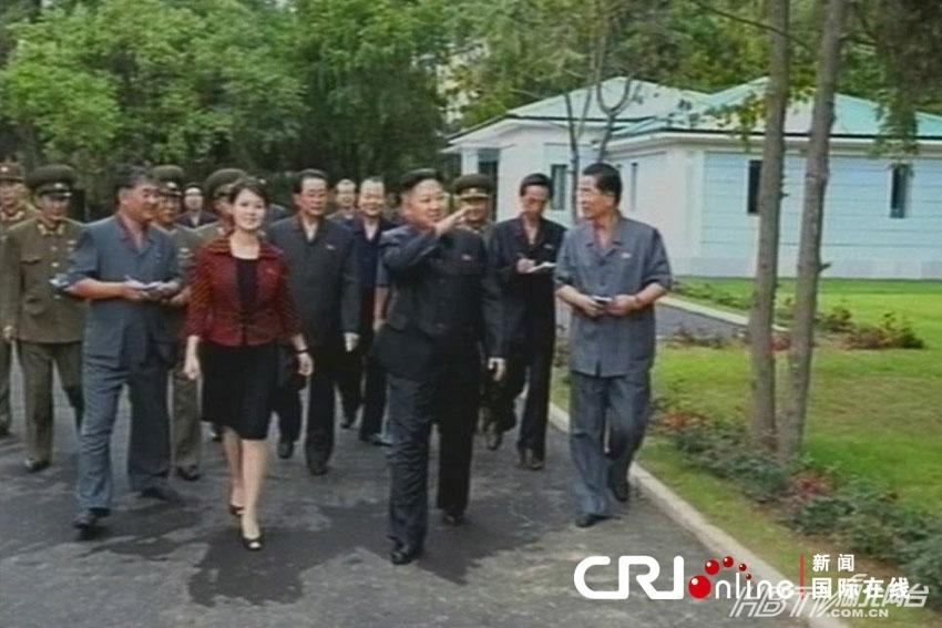 朝鲜金正恩妻子照片朝鲜第一夫人美女照片曝光