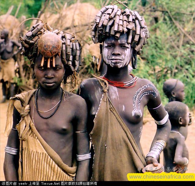 非洲原始部落探秘,非洲象人族食人族纪录片截