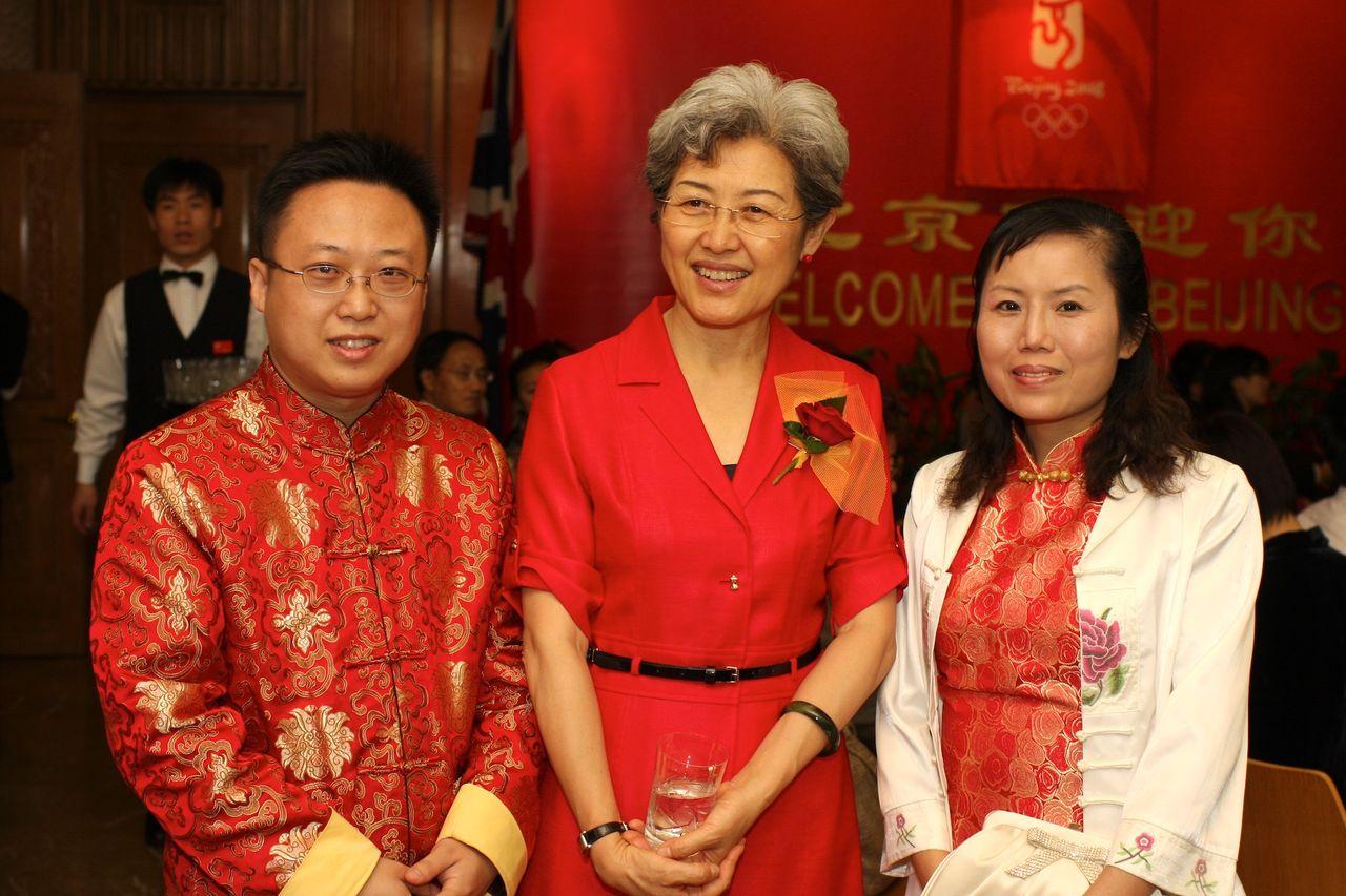 外交部部长傅莹女儿_裕安图片网