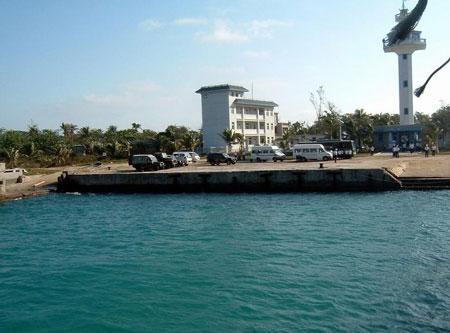 最新南海西沙永兴岛岛图片,永兴岛地图和旅游景点面积