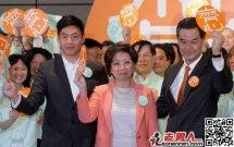 中国香港新特首梁振英 香港中联办主任级别_天
