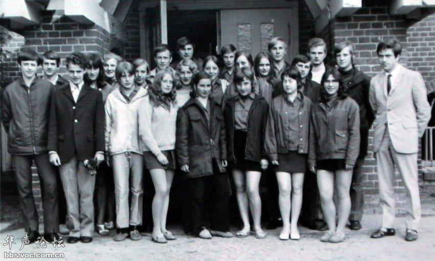 德国总理默克尔性感和年轻时的照片,默克尔的