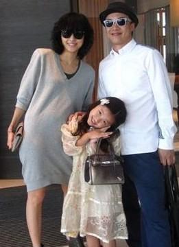 婆徐濠萦和女儿陈康堤照片,陈奕迅老婆是谁?图片
