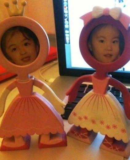王菲公开女儿李嫣手术视频画展近照 李嫣正面照片兔唇修复对比图