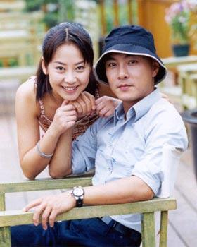 张卫健老婆张茜简历资料和儿子照片