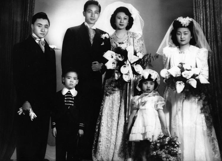 上海皇帝杜月笙的子女照片孟小冬杜月笙的女儿