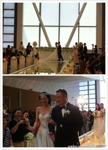 小爸爸滕华涛老婆婚礼照片,妻子周圆圆个人资料 滕华涛刘孜恋情图