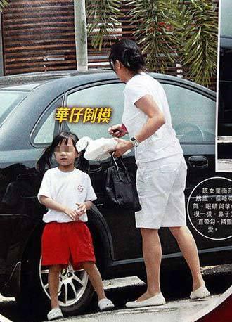 刘德华老婆朱丽倩照片个人资料 朱丽倩和刘德华的儿子