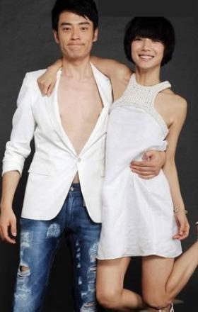 王珞丹闪婚闪离,老公李光洁身高个人资料 王珞丹整容图片男友照片