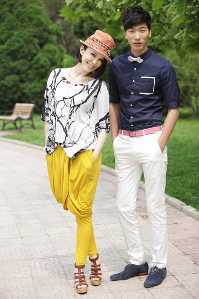 张亮的老婆是谁,中国首席男模张亮老婆莫万丹