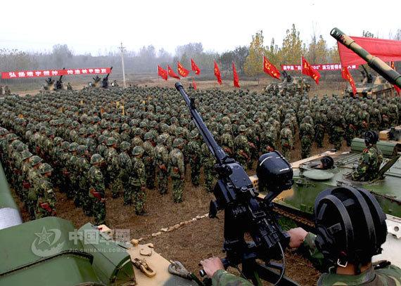 中国军队的作战部队人数 最新中国军队体制编