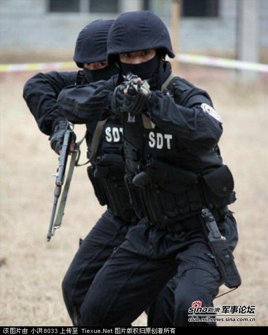 武警部队司令员是什么级别 中国武警特警部队图片图片