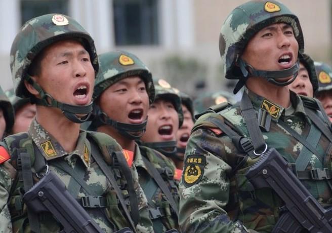 武警部队与解放军打架 武警部队司令员高清照片图图片