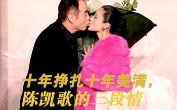 陈凯歌妻子陈红年龄,陈凯歌老婆陈红个人资料
