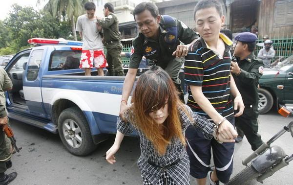 越南9名女毒贩被判处死刑 四个女毒贩的死刑过