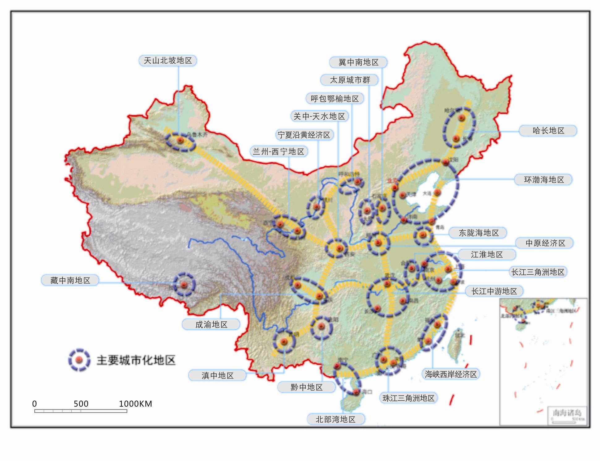 京津冀一体化规划城铁地图 京津冀新版规划地图