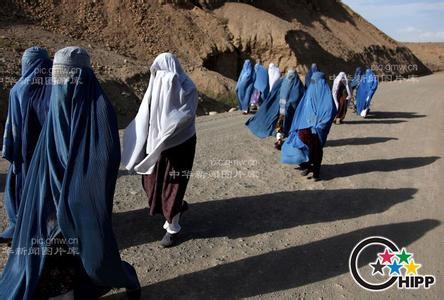 阿富汗妇女的悲惨生活