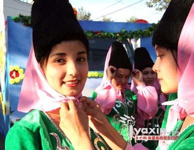 新疆维吾尔族美女特色