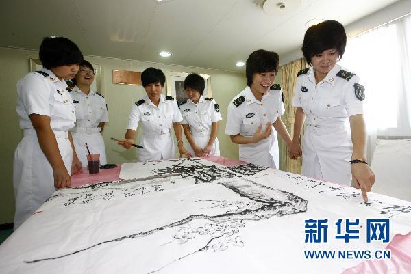 辽宁舰航母女宿舍大揭秘 中国航母女舰员的泳装大曝光   图