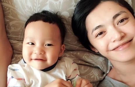 姚晨和儿子小土豆合影照片曝光,姚晨儿子的爹是谁