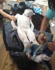 两儿子溺亡遗体放冰箱冷藏图