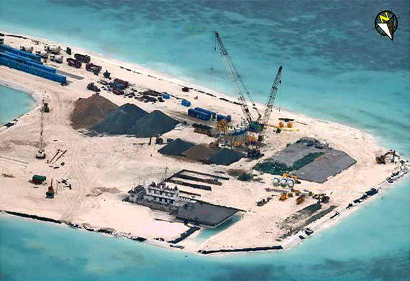 赤瓜礁填海要多久?南沙赤瓜礁填海进度照,赤瓜