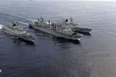 2015中国海军舰艇实力 中国海军护航编队照片