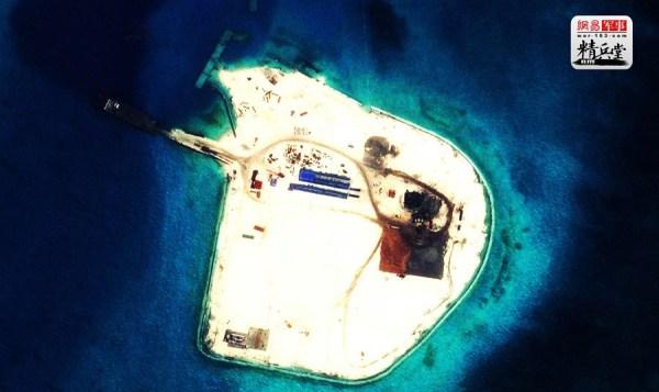 最新南沙填海造岛高清大图