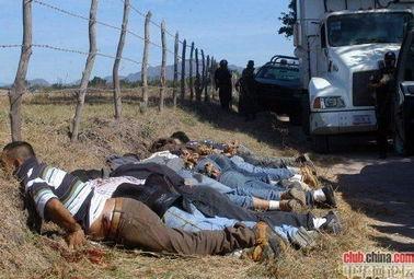 墨西哥黑帮处死女人视频