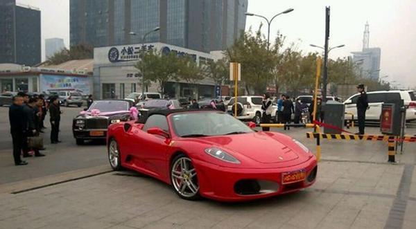 中国最牛的婚礼车队内幕,中国最牛的婚礼车队现唐山 4