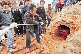千年古墓挖出活女人视频