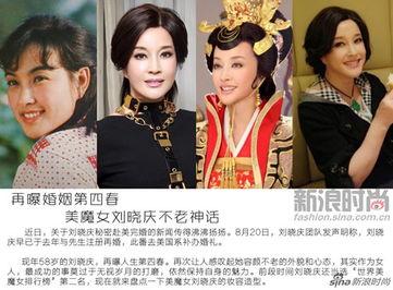 62岁刘晓庆整容对比照