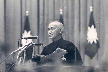 蒋介石逝世真实照片,蒋介石与宋美龄的后代,蒋介石简介孙子近况
