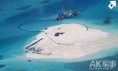 曝中国在南海五岛礁填海造机场
