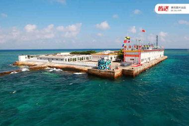 永暑礁面积有多大,永暑礁造岛最新照片