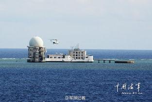 永暑礁机场跑道最新照卫星图曝光,中国南沙永暑礁填海工程近尾声