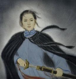 秋瑾被斩首的惨景图,秋瑾徐锡麟的爱情,秋瑾简介生前的照片