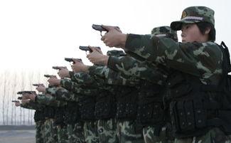 中国武警特警女漂亮图片最新训练视频,武警与特警的区别图片