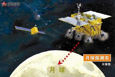 中国嫦娥月球发现外星人 图,嫦娥三号月球真实图片