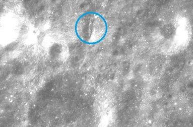 中国嫦娥月球发现外星人 图,嫦娥三号月球真实图片 3