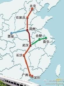 2015京九高铁规划线路图最新消息 京九高铁经过哪些城市