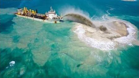 南海岛礁填海最新消息 照片,中国南海岛礁填海2015建设最新进展