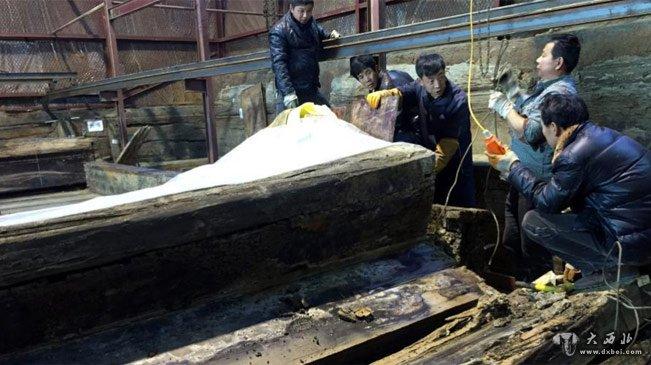 南昌西汉大墓主棺最新消息,南昌西汉海昏侯墓最新发掘现场