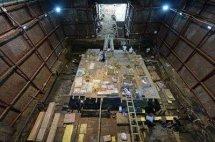 南昌西汉墓发现金饼达189枚,最新考古发现古墓海昏侯墓视频2015