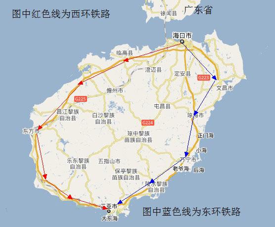 海南环岛高铁开通时间时刻表,海南环岛高铁线路图票价