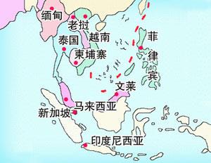 东盟十国是哪十国经济总量_春秋5国是指哪5国