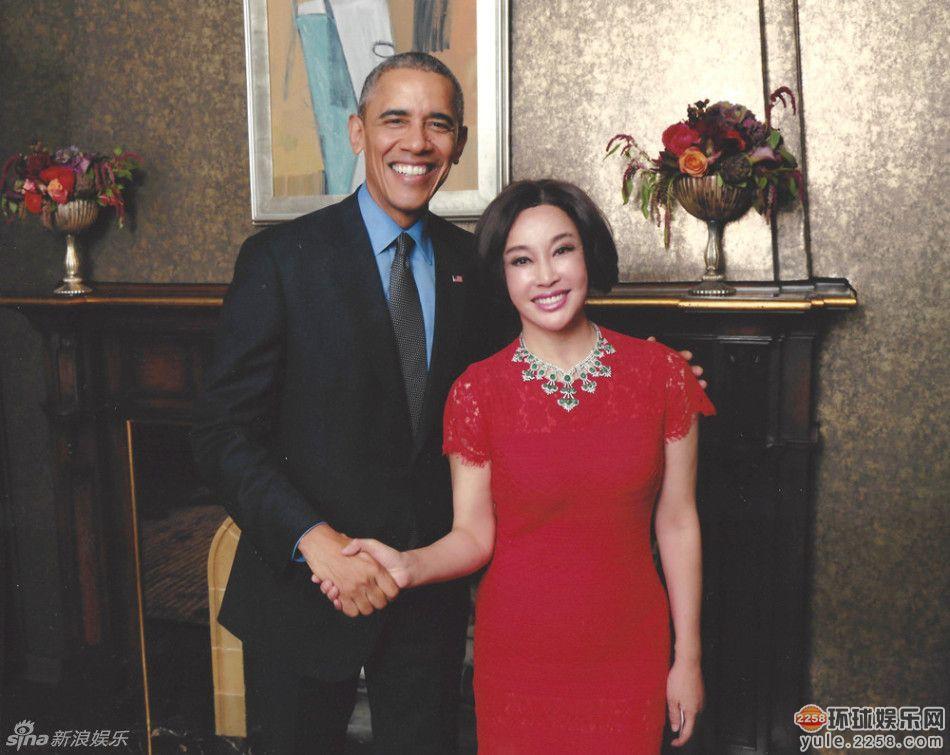 刘晓庆和奥巴马私下关系是朋友?刘晓庆为何赴奥巴马私宴合照曝光
