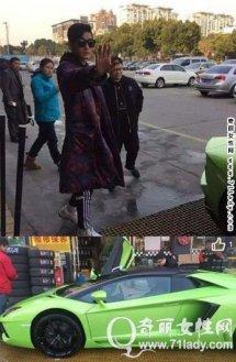 霸道总裁张翰炫富高调开豪车出街接女友,张翰开的车什么牌子价位