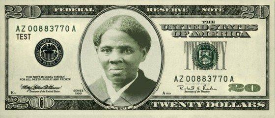 新版20美元纸币上的女性头像是谁
