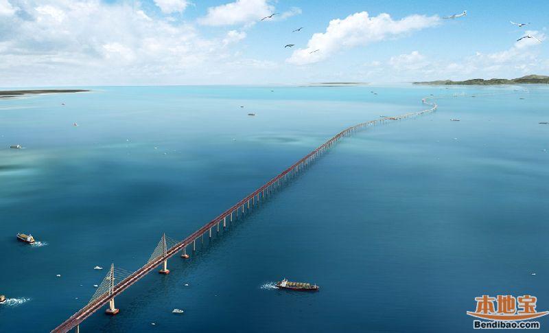 港珠澳大桥工程最新进展,港珠澳大桥最新规划图,港珠澳大桥视频
